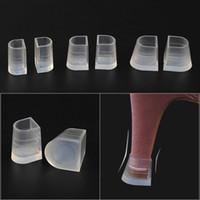 10 PCS Protezioni con tacco alto per scarpe a spillo a piedi in erba PVC White Antislipl Stoppers tacchi