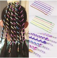 Headband 6pcs Kids Girls Diy Hair Styling Braiding Spiral Cu...