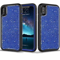 Starry Sky Bling Glitter Case For iPhone X 8 7 6S Plus Rugge...