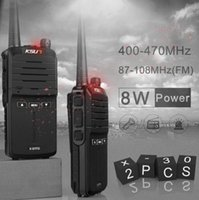 (2pcs) KSUN X- 30 handheld walkie talkie portable radio 8W hi...