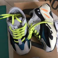 Kids Running Shoes Kanye West Wave Runner 700 Youth Shoes Sp...