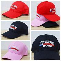 Trump Baseball Caps Chapeaux Broderie Trump 2020 Make America Great Again Casquettes Sport Chapeau Nouveau Designer Chapeau Vente Chaude YL502