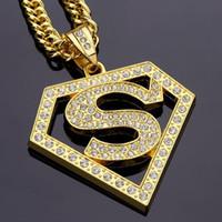 2021 diamante hip hop pingente colar rua hip hop jóias para homens mulheres hiphop ouro prata banhado