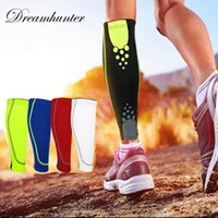 High Elastic Compression Cycling Calf Leg Protectors Basketb...