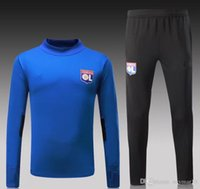 Thai Quality 2017 2018 LYON Training Suits Lyonnais chandal ...