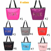 8 colors Handbags Luxury Designer PINK Girls Purse Sequin To...