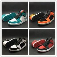 New Basketball Shoes 1 Mens Designer Mid Sports Shoes Aquama...