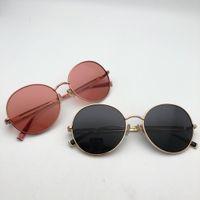 Mulheres Óculos De Sol Redondos Marca Do Vintage Óculos De Sol Para Homens  Das Senhoras Designer 162a092300
