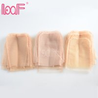 Loof 12pcs 4 X 4 Inch Swiss Lace Closure Frontal Base For Ma...