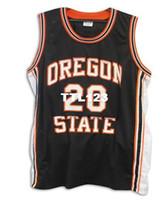 Hombre Vintage   20 Gary Payton Jersey de Universidad estatal Oregon  Beavers talla S-4XL 85cc29bce