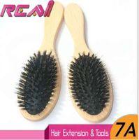1 pezzo Spazzola per capelli setola di cinghiale, setole spazzola per setole estensioni capelli per setole estensioni capelli