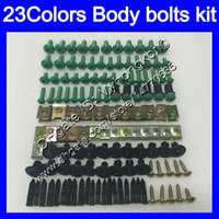 Bulloni di carenatura Kit a vite intera per Kawasaki ZX10R 12 13 14 15 ZX 10R ZX-10R 2012 2013 2014 2014 2015 Body Dadi Viti Doce Bullone Kit 25 Colori