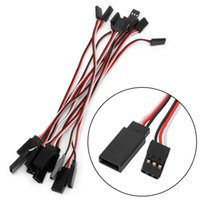 100pcs 150mm Lead Servo Extension Wire Cable Cord For Futaba...