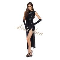 En cuir Sexy Discothèque Dancing Queen Dress Praty Cosplay Jouets Érotiques Sex Bondage Produits de Sexe Sex Toys Pour Womend
