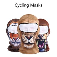 3D Cycling Masks Sunscreen head cover Outdoor Bike Motorcycl...