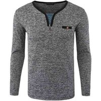 남성 폴로 셔츠 브랜드 2018 남성 긴 소매 패션 캐주얼 슬림 폴카 도트 포켓 버튼 폴로 남성 유니폼