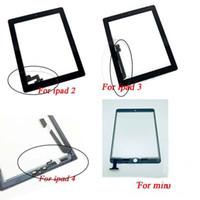 لباد 2 3 4 مصغرة الهواء 123 شاشة تعمل باللمس الزجاج الجمعية محول الأرقام استبدال AAA الجودة الخارجي عدسة زجاج لوحة بالجملة