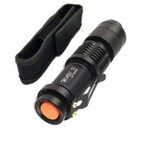 Mini ZOOMABLE 7W 300LM CREE Q5 ZOOM Tactical AA Battery OR 1...