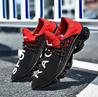 c65da7e57a7 Wholesale anti shock shoes for sale - 2018 New Print RAGF Shoes Black Red  Running Shoes