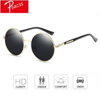 Psacss 2018 Round Sunglasses For Women Men Colorful Lens Spe...