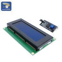 20x4 2004A schermata blu HD44780 per Arduino Character LCD / w Modulo adattatore interfaccia seriale IIC / I2C