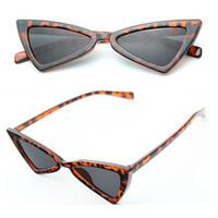 76c80e5a25c78 Moda Óculos De Sol Das Mulheres Olho de Gato Sexy Leopardo Louco Óculos de Sol  Óculos