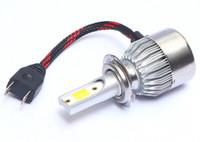 Fari LED per auto C6 Plus Fari 3000K 4300K 6000K Bianco Giallo 2 colori Illuminazione automatica Lampada per installazione senza perdita Lampada super brillante