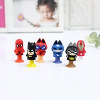 60pcs lot Movie Action Figures Cat spider Bat and Men of Iro...