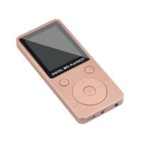 2018 Moda portatile MP3 Lossless Sound Music Player Registratore FM Supporto schermo LCD 32GB Micro SD TF Card