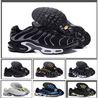 Discount High Quality Sports Running Shoes New TN Men Black ...