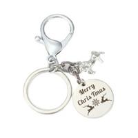Modeschmuck zubehör feine Brief Anhänger Bewusstsein Ermutigung Wörter Halskette Maßgeschneiderte Birthstone Geschenke für Frauen Mädchen keychain