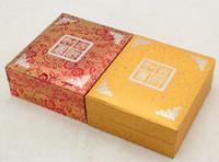 Jade bijoux emballage Box Factory Vente directe propice Impression pendentif Marque pendentif Boîte