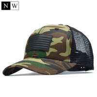 [NORTHWOOD] Camo Mesh Baseball Cap Men Camouflage Bone Mascu...