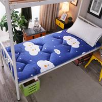 6ab9f45b8d895f Literie amicale de lit draps de lit double / lit simple coussin coussin de matelas  tatami respirant confortable doux