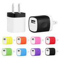 Universal Wall Charger Single Port Home Adapter 5V 1A EU US ...