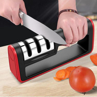 Kitchen Tools Knife Sharpener Professional Stainless Steel C...