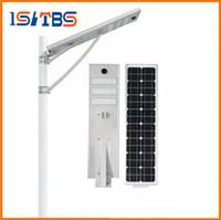 레이더 센서 60W 주도 태양 거리 빛 방수 LED 도로 빛 LiFePO4 Battery2000 +주기 8 년 수명 Mono 태양 전지 패널 보안 램프