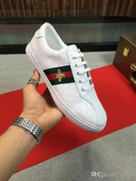 18ss Top Men Women Luxury Brand Sneakers Casual Shoe Genuine...