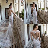 Berta 2019 Wedding Dresses Mermaid Sweetheart Applique Pearl...