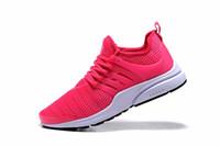Europa nuevo producto 2018 Prestos 5 Runner Zapato Hombre Mujer Presto BR QS Amarillo Rosa Oreo Moda al aire libre Jogging deporte Tamaño 5.5-12