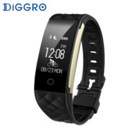 Diggro S2 Smart Wristband Heart Rate Monitor IP67 Sport Fitn...