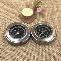 Aço inoxidável Retro Compass Para Acampamento Ao Ar Livre PEQUENO Conveniente Carry Ao Ar Livre EDC FERRAMENTA Venda Direta Da Fábrica À Prova D 'Água 4 JH X