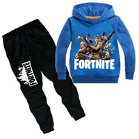 Game Fortnite Hoodies Suits Kids Children Battle Royale Swea...