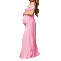 1d38fffb5481e Elematernity Abiti Abbigliamento Fotografia Puntelli Abiti gravidanza  Maternità Soft Dress Donne incinte Servizio fotografico