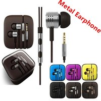 Top quality Metal Bass 3. 5 mmMetal Xiaomi Headphone Universa...