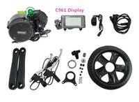 무료 배송 BBS02 750W 허브 드라이브 전기 자전거 모터 키트 BAFANG 750W EBIKE 변환 키트 디스플레이