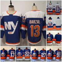 2018 New York Islanders Hockey 13 Mathew Barzal 27 Anders Le...