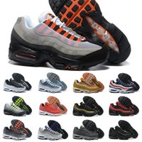 a9f071db837c 2018 New Ultra Air 20th Anniversary 95 OG X Maxes Neon Mens Running Shoes  Sports shoes designer Luxury Brands cheap Trainers 95s Sneakers