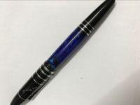 توقيع مجموعة الأسطوانة القلم الأزرق الرخام الأعمال القلم OFIICE قرطاسية الحبر الأسود 0.5 مم الكتابة نقطة