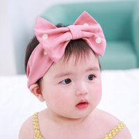 Cute Dotted Elastic Baby Girl Hairband Toddler Flexible Head...